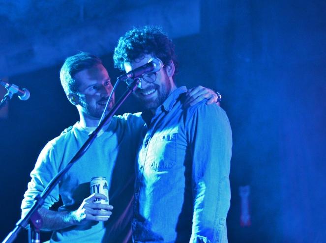 Gerard Erker and Nick Hogan @ Fashogan Fest