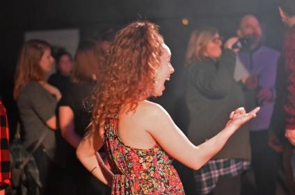 Hillary Fitz supporting her fellow musicians @ Fashogan Fest